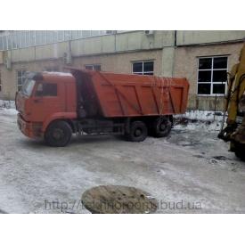 Вантажоперевезення самоскидом КАМАЗ