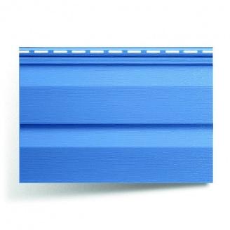 Акриловый сайдинг Альта-Профиль KANADA плюс Премиум синий металлик