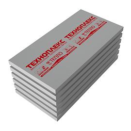 Экструзионный пенополистирол ТехноНИКОЛЬ XPS ТЕХНОПЛЕКС L 1180x580x50