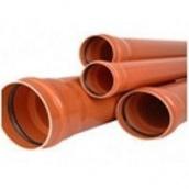 Труба ПВХ Импекс-Груп для наружной канализации SDR 41 (SN4) 160х4х6000 мм