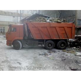 Вывоз строительного мусора самосвалом КАМАЗ 30 т