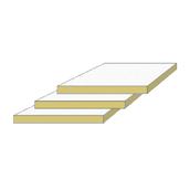 Акустическая панель IZOVAT Sound Ceiling 1200*600*20 мм