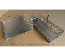 Профиль цокольный стартовый алюминиевый с капельником 53 мм 2,5 м