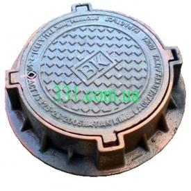 Люк каналізаційний ТМ (Д400 Автодор) з замком (02914)