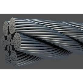 Трос стальной для автомобилей с полимерным покрытием