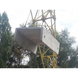Лоток залізобетонний Л12-8-2 3 метри