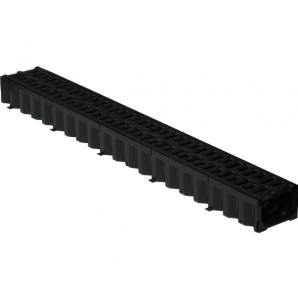 Решетка дорожная пластмассовая (ХП) 665х340x80 мм (р603)