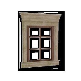 Віконне обрамлення з мармуру Crema Mare бежеве