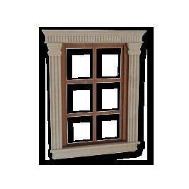 Обрамлення вікна з мармуру Crema Nova бежеве