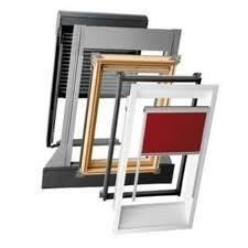 Мансардне вікно Velux GZR MR06 з коміром для металочерепиці 78x118 см