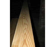 Доска пола сибирская лиственница сорт АВ 27х142 мм 4 м