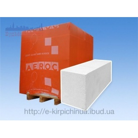 Газобетонний блок Aeroc D-500 300*200*600 мм гладкий
