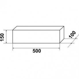 Брус кабельного каналу БК-12а 1000х150х100 мм 40 кг