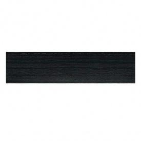 Кромка ПВХ MAAG 22х0,6 мм черная структура 202-S