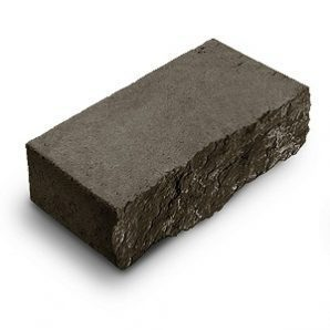 Фасадный камень стандартный Авеню Декор Рустик 250х100х65 мм габбро