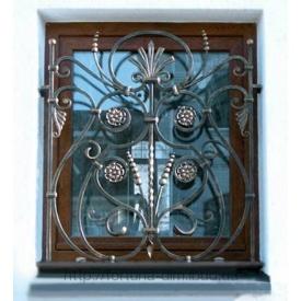 Кованая решетка для окна
