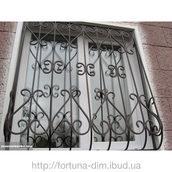 Кована решітка для вікон (45555)
