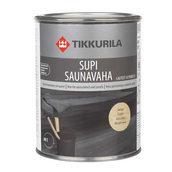 Защитный состав Tikkurila Supi saunavaha 1 л черный