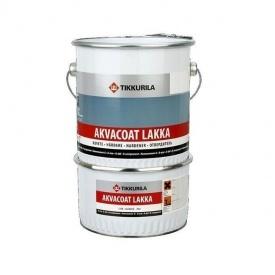 Эпоксидный лак Tikkurila Akvacoat epoksilakka 10 л бесцветный