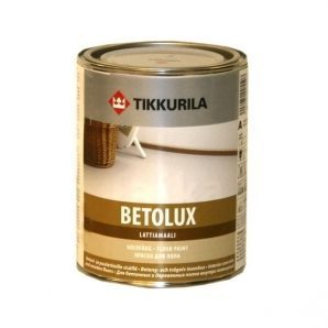 Уретано-алкидная краска Tikkurila Betolux lattiamaali 0,9 л