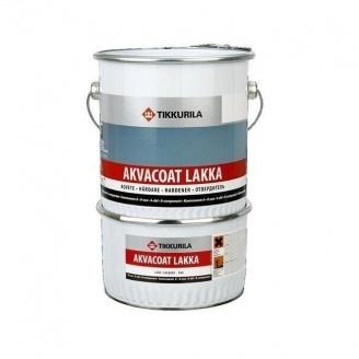 Епоксидний лак Tikkurila Akvacoat epoksilakka 10 л безбарвний