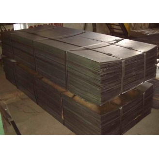 Лист горячекатаный стальной 6х1500х6000 мм