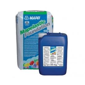 Mapelastic Fondation еластична 2-х компонентна полімерцементна гідроізоляція при відємному тиску води