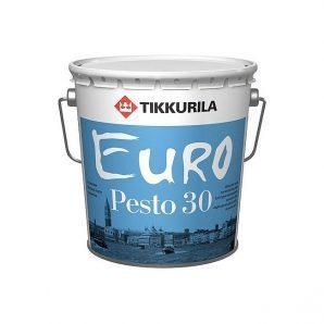 Алкидная краска Tikkurila Euro pesto 30 0,9 л полуматовая