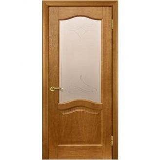 Межкомнатная дверь TERMINUS Classic Модель 03 остекленная дуб тонированный