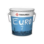Латексная краска Tikkurila Euro 7 18 л матовая