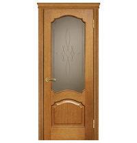 Межкомнатная дверь TERMINUS Caro Модель 42 остекленная даймон