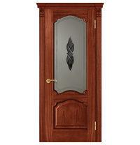Межкомнатная дверь TERMINUS Caro Модель 42 остекленная оригин