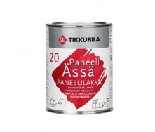 Акрилатний лак Tikkurila Paneeliassa paneelilakka puolihimmea 0,9 л напівматовий