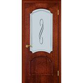 Межкомнатная дверь TERMINUS Ramiada Кардинал остекленная сапели