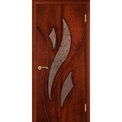 Межкомнатная дверь TERMINUS Ramiada Лилия остекленная сапели