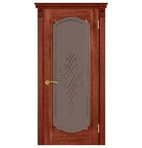 Межкомнатная дверь TERMINUS Caro Модель 43 остекленная оригин