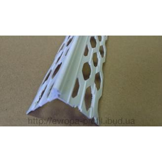 Наугольник для мокрой штукатурки из ПВХ 3 м