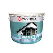 Полиакрилатная краска для дома Tikkurila Ultra matt 2,7 л матовая
