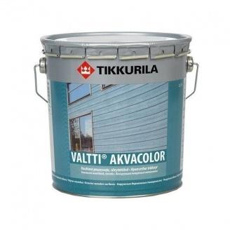Водорозчинна фасадна лазурь Tikkurila Valtti akvacolor 0,9 л