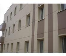Отделка фасада здания фиброцементными плитами