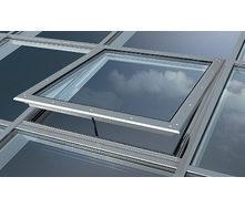 Мансардное окно в стеклянный фасад MB-SR50 1,5х2 м