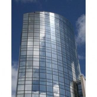 Структурное остекление фасадов без видимых прижимных планок