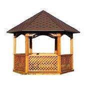 Альтанка дерев'яна каркасна