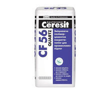 Упрочняющее полимерцементное покрытие-топинг Ceresit CF 56 Quartz 25 кг светло-серый