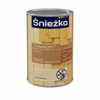 Защитно-декоративная пропитка Sniezka Drewkorn Expert 4,5 л прозрачная