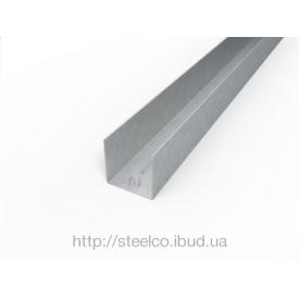 Армирующий профильдля ПВХ конструкций 25х31,5х23 мм