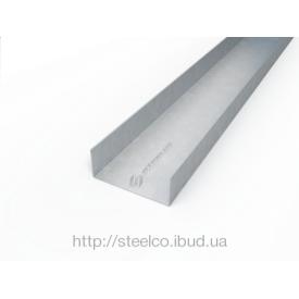 Направляющий профиль П-образный ПП 150 50х150х50 мм