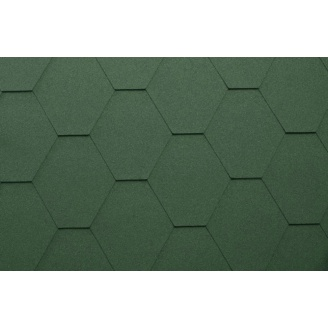 Гибкая черепица Katepal Classic KL 1000*317 мм зеленая