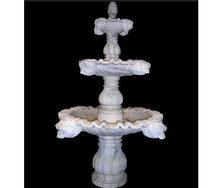 Декоративный фонтан из мрамора