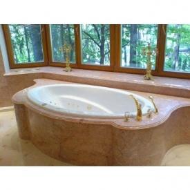 Облицовка ванной комнаты мрамором